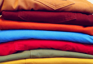 Цветные вещи