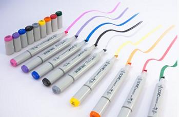 Цветные маркеры