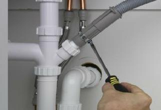 Подсоединение к водопроводу