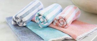 Как отстирать кухонные полотенца в домашних условиях от застарелых пятен
