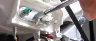 Как заменить нагревательный ТЭН в стиральной машине Индезит
