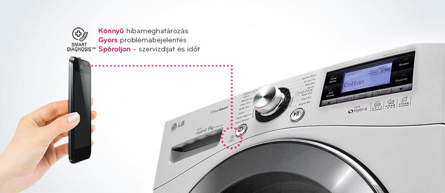Как пользоваться LG Smart Diagnosis стиральной машины