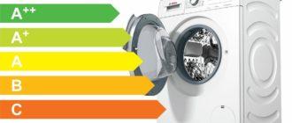 Класс энергопотребления стиралок