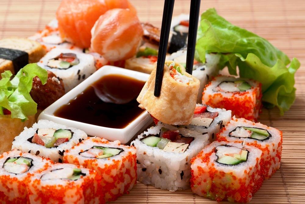 Обзор популярных сетей суши ресторанов