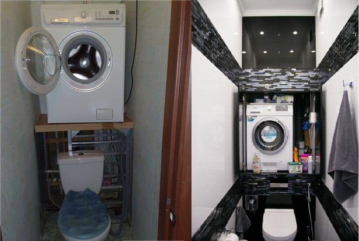 Как установить стиралку высоко